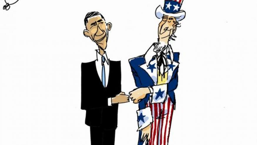 Obama and Uncle sam