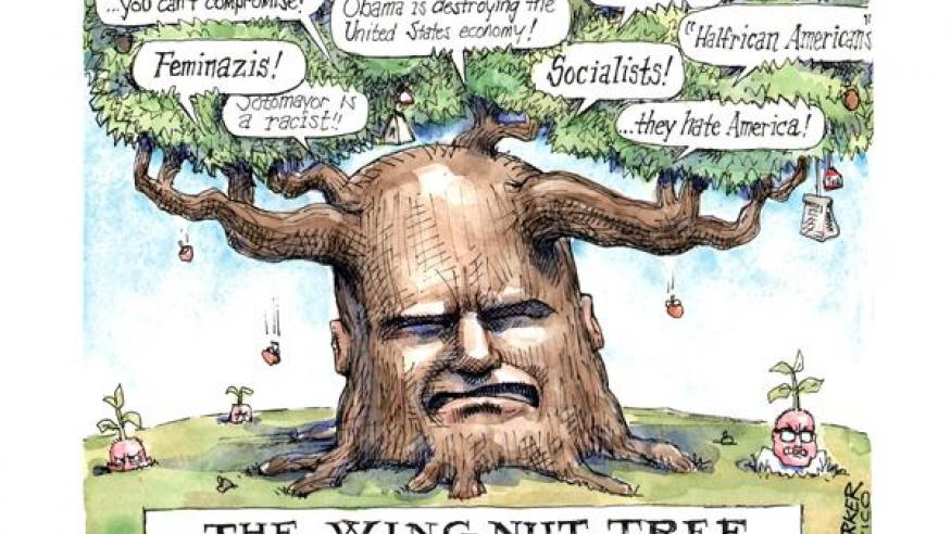The wing nut tree